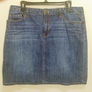 Tommy Hilfiger Denim Jean Straight Skirt Size 12